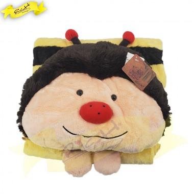 Color Rich - Animal Blanket - Bee